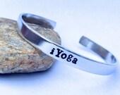 iYoga- Cuff Bracelet