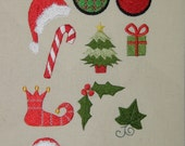 Mini Christmas Embroidery Design Set