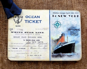 Titanic Ship Ticket  Tags #431