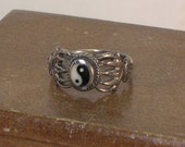 Silver Ring of Celtic Design - Size 5.75 and 6.5