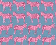 Zaza Zoo Zebras by Marissa and Creative Thursday and Andover Fabrics Half Yard