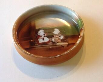Baby Bowl Sunbonnet Babies Royal Bayreuth Bowl Antique Baby Dish Bowl