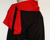 Children's Red Costume Sash