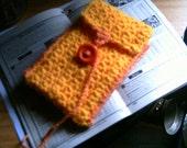 Handmade Bright Yellow Tarot Card Case