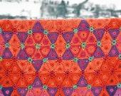 FLORENCE Crochet Afghan/Blanket - PDF Pattern