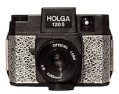 Customized Distressed Silver Holga w/matching notebook