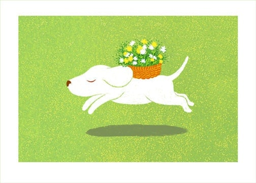 Spring Dog By Yoote On Etsy