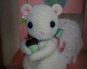 Sweet pompom baby Squirrel featured in Adventures in Pompom Land Craft Book