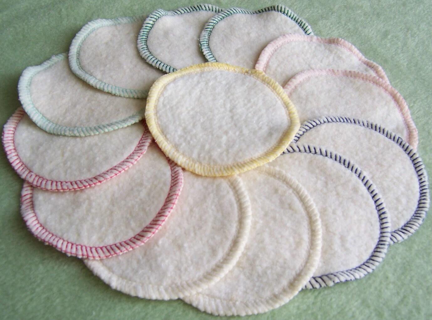 Hemp Facial Cleansing Rounds Pads Washable Reusable Organic