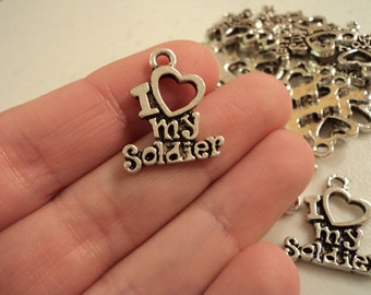 I Love My Soldier - Set of 10 - #I114