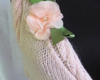 ON SALE Handmade Knit  Vest