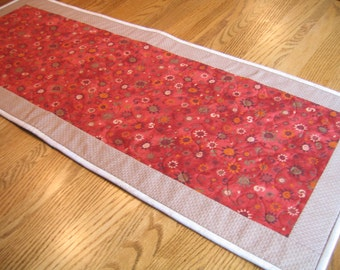 Quilted Table Runner in a Southwest Design