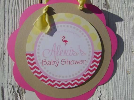 flamingo baby shower decorations baby shower decorations baby shower