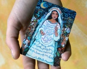 Hail Mary wallet-sized Prayer Card on waterproof aluminum