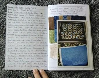 Quilt Journal PDF template
