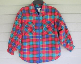 Gymboree Flannel Quilted Shirt Jacket
