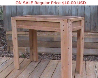 Wood Working Plans / Outdoor Planters / Planter Box Plans / Wooden Planter  Plan / Wooden