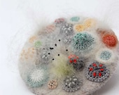 Large mouldy madness brooch by ELIN
