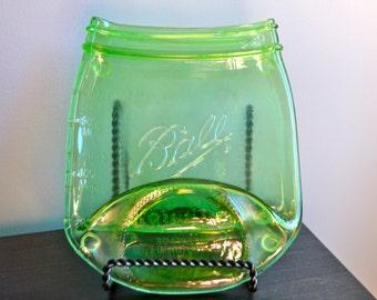 Green Ball Canning Jar Spoon Rest