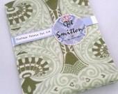 Soft Green Horrockses English Vintage Fabric Fat Quarter