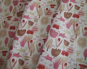 Organic Cotton Napkin Set of 4 Kokka Cosmic Zoo