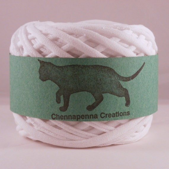 T shirt yarn undyed white 60 yards from for T shirt printing st charles mo