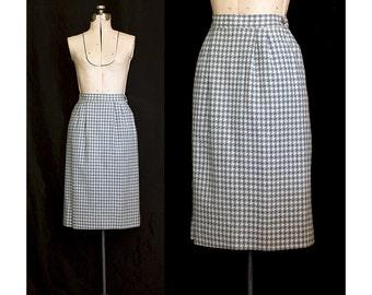 SALE Vintage 70s Miss Pendleton Wool Skirt