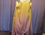 Padme Rainbow Lake Gown