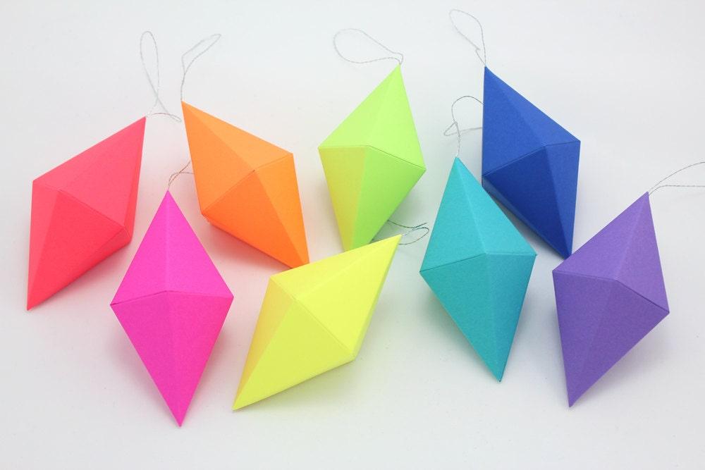Prism Christmas Ornaments