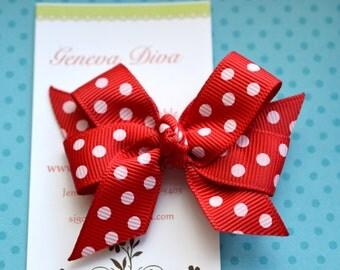 Red Dots MINI Diva Bow
