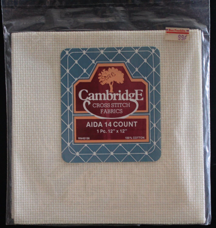 Aida cloth count cross stitch fabric by suelinder
