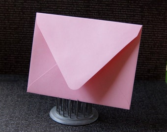 "10 Pointed Flap A2 Envelopes in Blossom (light pink) .  4 3/8"" x 5 3/4"