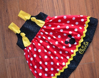 Minnie Mouse Birthday Outfit - Birthday Outfit - Minnie Mouse Outfit