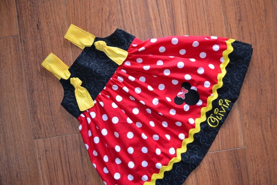 Girls Disney Dress - Disney Knot Dress