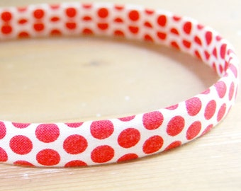 evie lala red dot headband