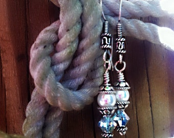 Tying the Knot, Wedding Jewelry, Bridesmaid, Maid of Honor, Pearl, Crystal