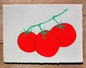 Tomatoes Blank Greeting Card