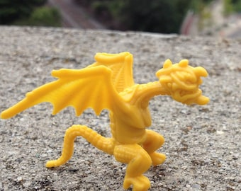 1960s UK Nabisco Dragon 1 Plastic Figure LARGE JAPANESE