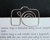 Camera - wire bookmark