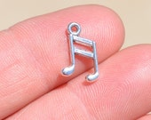1  Silver Music Note Charm SC1656