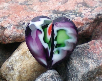 Heart Purple Design