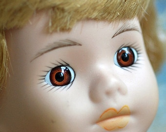 ceramic doll's head, Home Decor, doll's parts, collectibles, cool vintage, UA