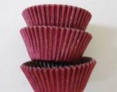 Wine Burgundy Eggplant Cupcake Liners (50)
