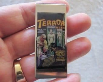 Terror Tales Pulp Fiction Money Clip