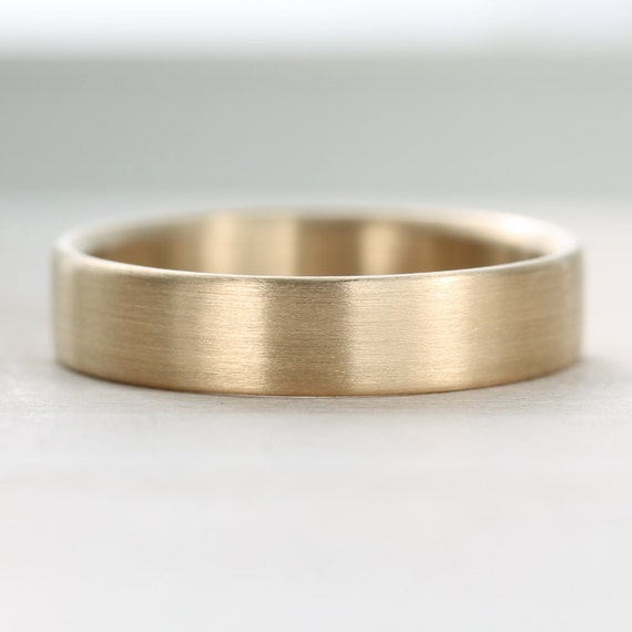 ... - Recycled, Eco-friendly, Ethical Wedding Ring - Soft Rounded Ring