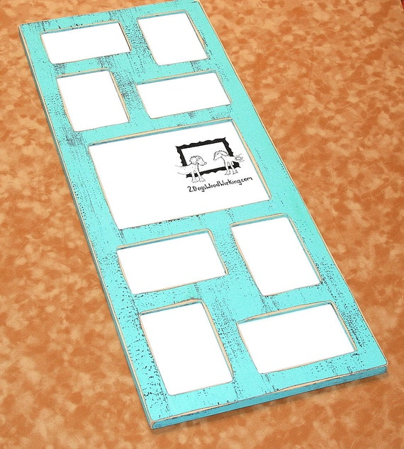 Collage Picture Frame Multiple Opening Frame Whimsical 9