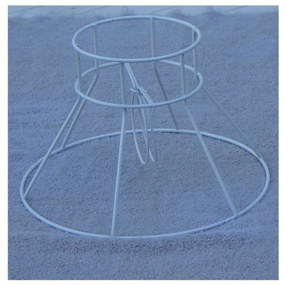 Metal Clip On Lamp Shade: Metal Lamp Shade Frame 8-inch Clip On Bulb Style