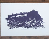 Edinburgh screenprint