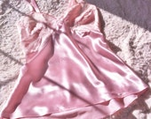 Luxurious Pin-Up Lingerie - Satin Camisole - STRAWBERRIES & CHAMPAGNE