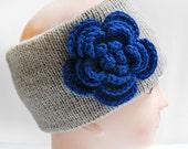 Knitted Flower Headband, Knitted Headband, Winter Headbands, Headbands For Women, Headbands For Girls, Knit Headband, Crochet Flower